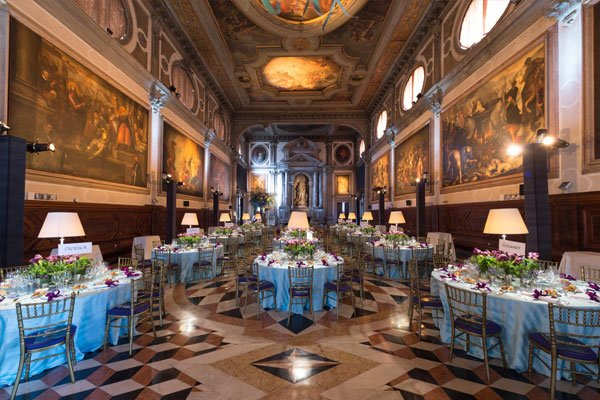 Location for events in Venice: Gala evenings in San Giovanni Room