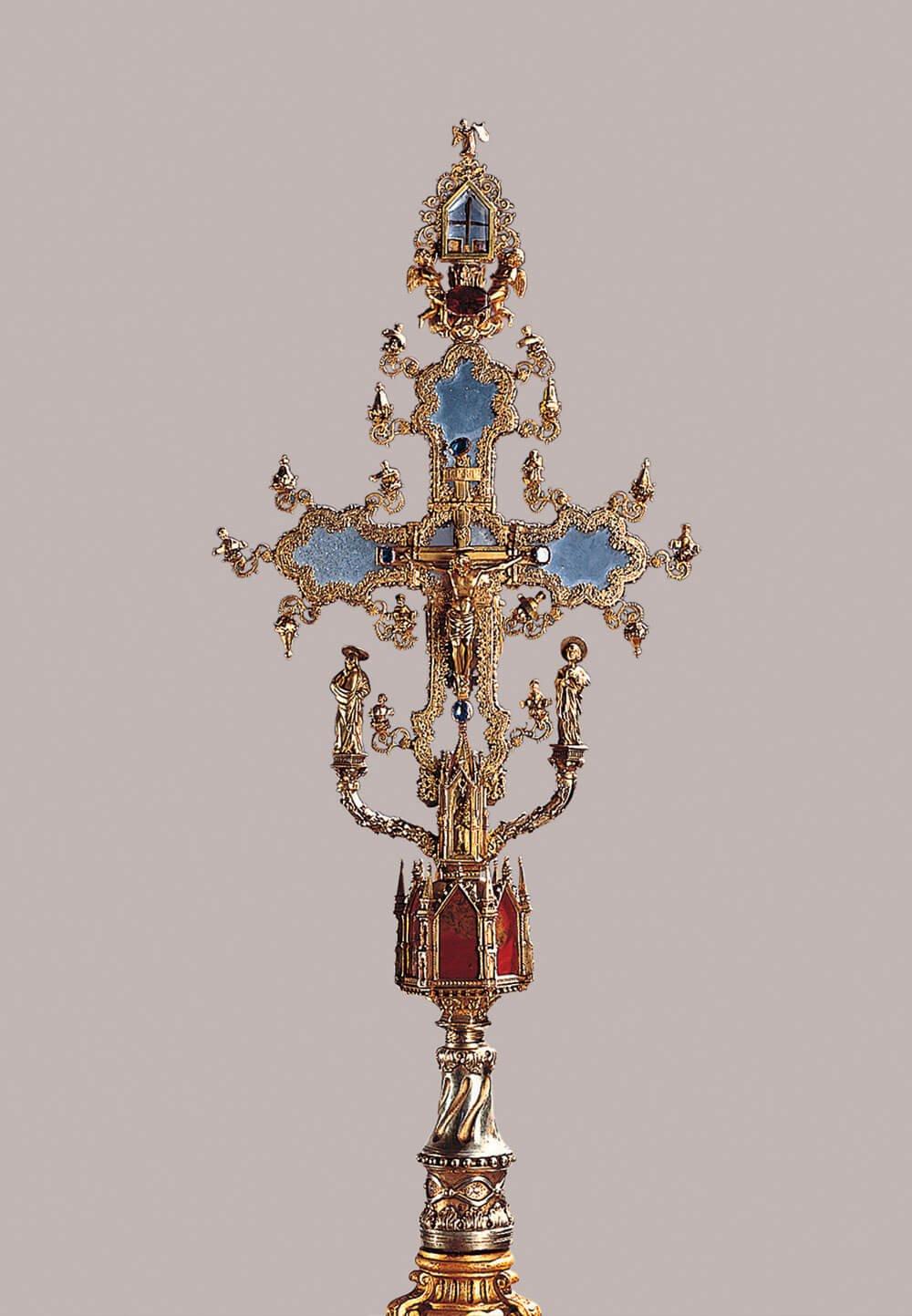 Croce-reliquario 1371