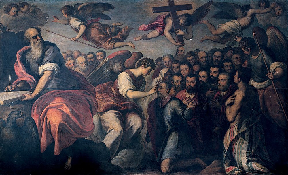 I crocesignati, dopo il 1582, Jacopo Palma il Giovane