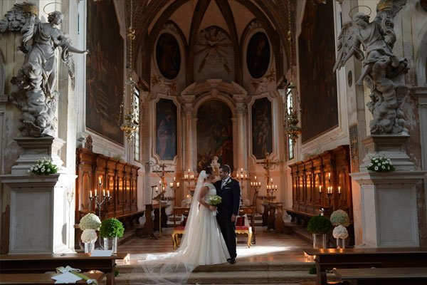 Location for events in Venice: Marriage in the Church of St. John the Evangelist