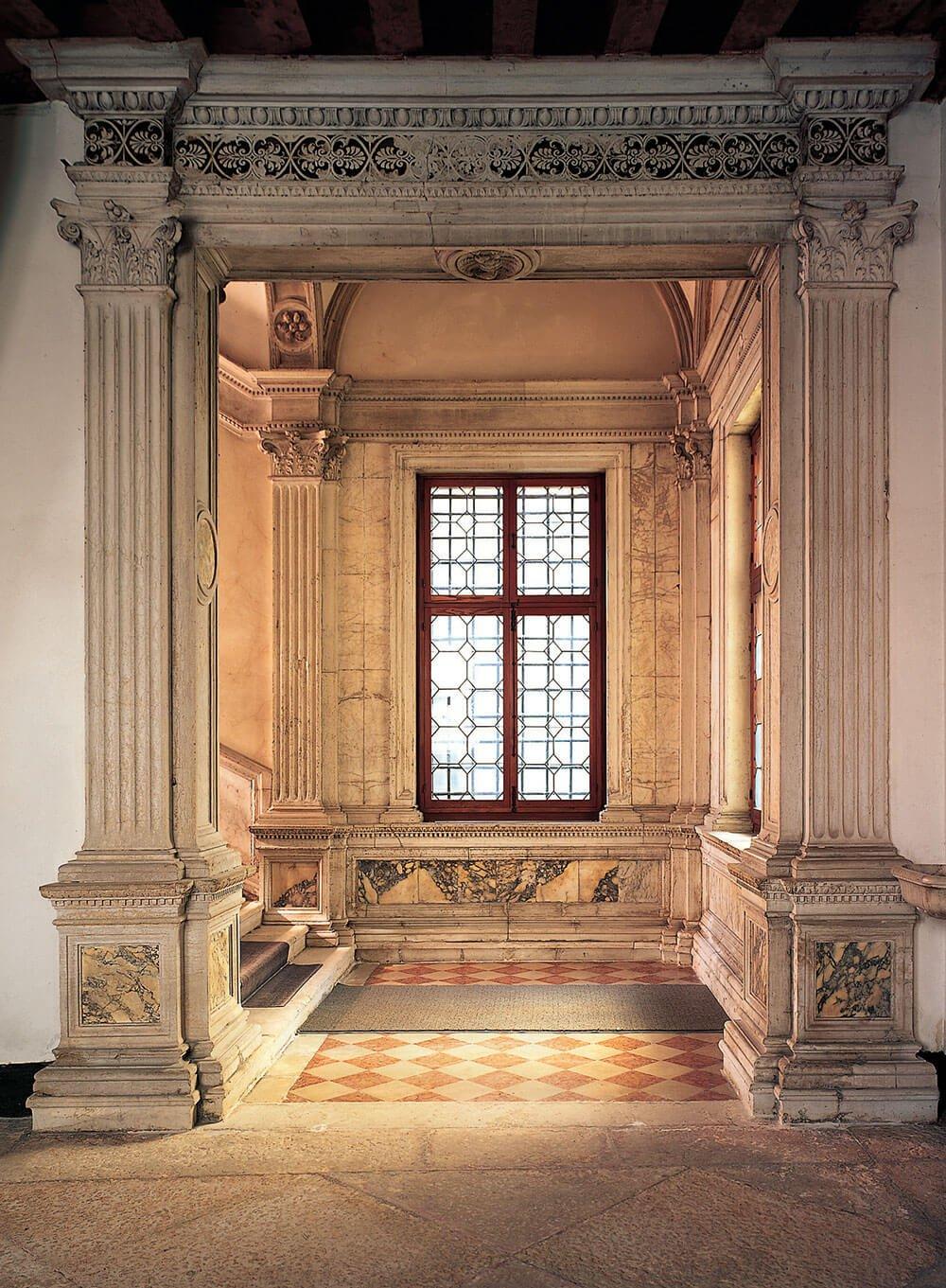 Portale dello scalone, 1498 - Mauro Codussi