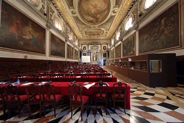 Location for events in Venice: Conferences in the San Giovanni Room - Sala Capitolare