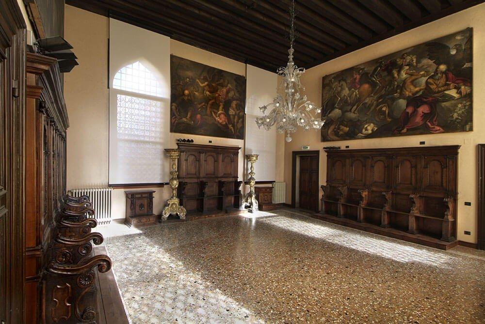 Sala dell'albergo, Scuola San Giovanni Evangelista