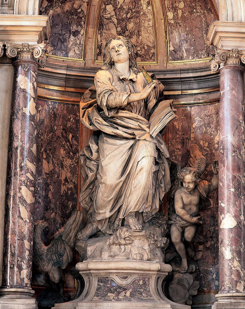 San Giovanni Evangelista 1732-1733, Giovanni Maria Morlaiter